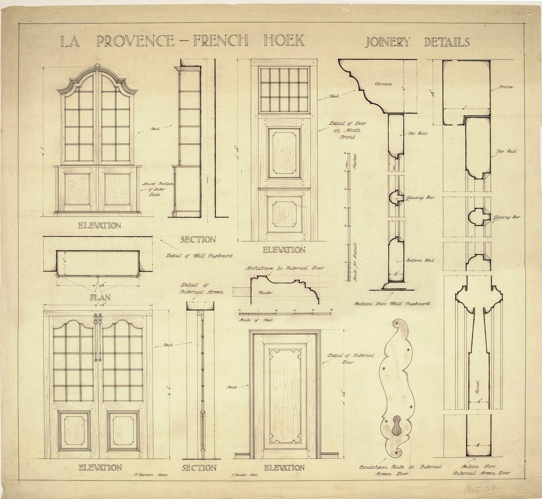 Files in this item  sc 1 st  UPSpace & La Provence - French Hoek: joinery details
