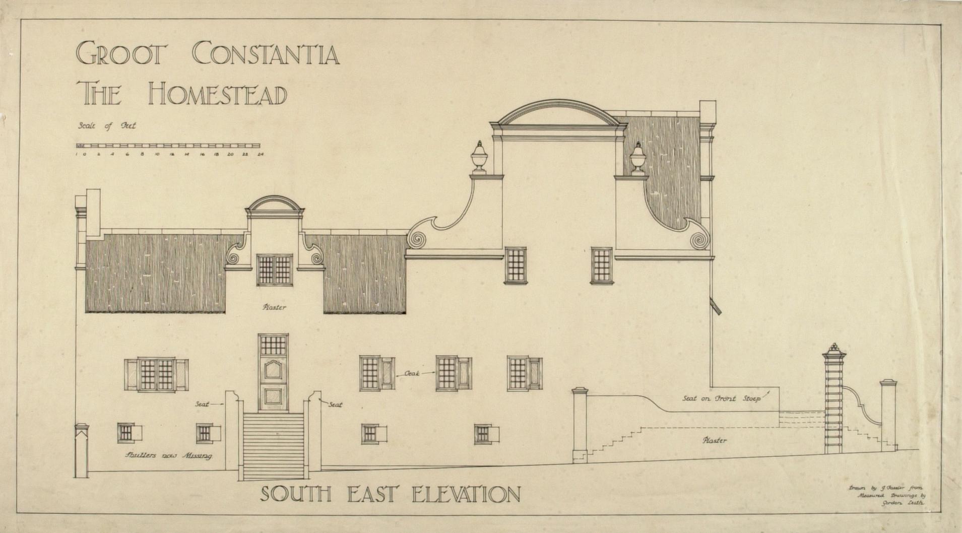 Groot Constantia The Homestead
