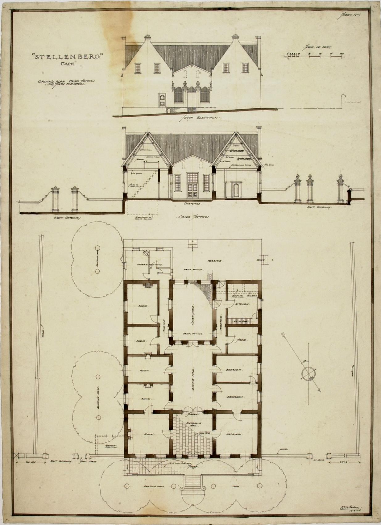 House Plans Dutch House Plans